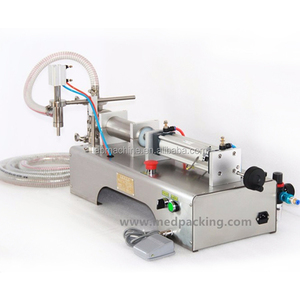 Digital Control Pump Liquid Filling Machine for vegetable oil,mineral water,juice,soft drink,soy milk