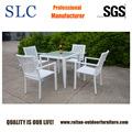 White Rattan Dining Set (SC-A7215)