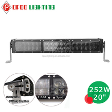New design 4D 4wd led light bar, 20 inch 4wd led light