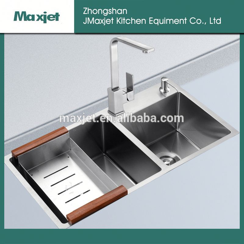 modern 304 stainless steel kitchen sink made in p.r.c