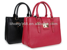 latest design hot selling lady genuine leather famous brand handbags