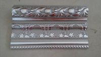Popular PS art ceiling decor/ps construction molding/moisture resistant ps decorative moulding