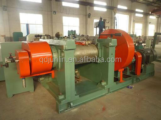 Waste Tyre Recycling Rubber Roller Grinding Machine