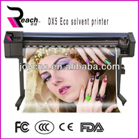 Hot sell 1.6m/1.8m /3.2m eco solvent printer with Epson Dx5/Dx7 heads China