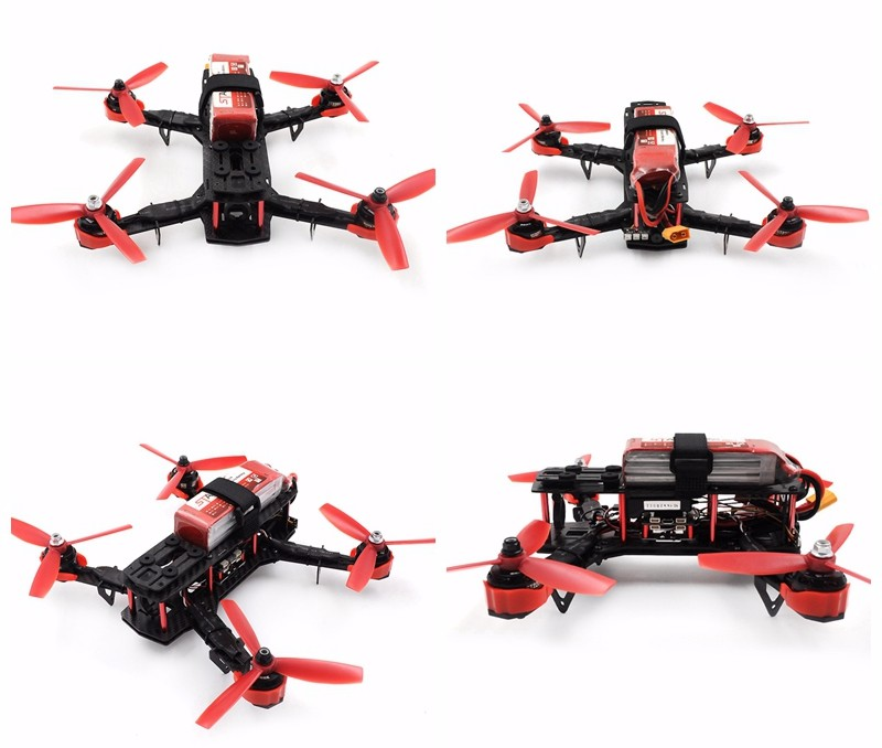 Assembly QAV250 DIY Quadcopter with SP Racing F3 Flight Controller and Flysky I6 6ch transmitter IA6B receiver