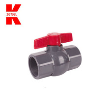 water supply pipe and irrigation plastic UPVC ball valve