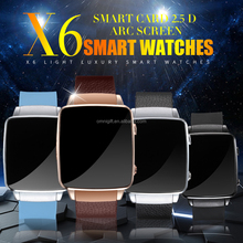 Chinese manufacturing of satellite watch phone X6 google smartwatch release date cheap smartwatch With Camera FM