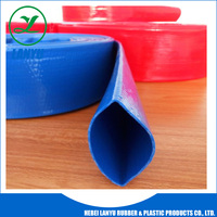 High strength PVC Lay Flat Water Discharge Hose,Water Discharge Hose