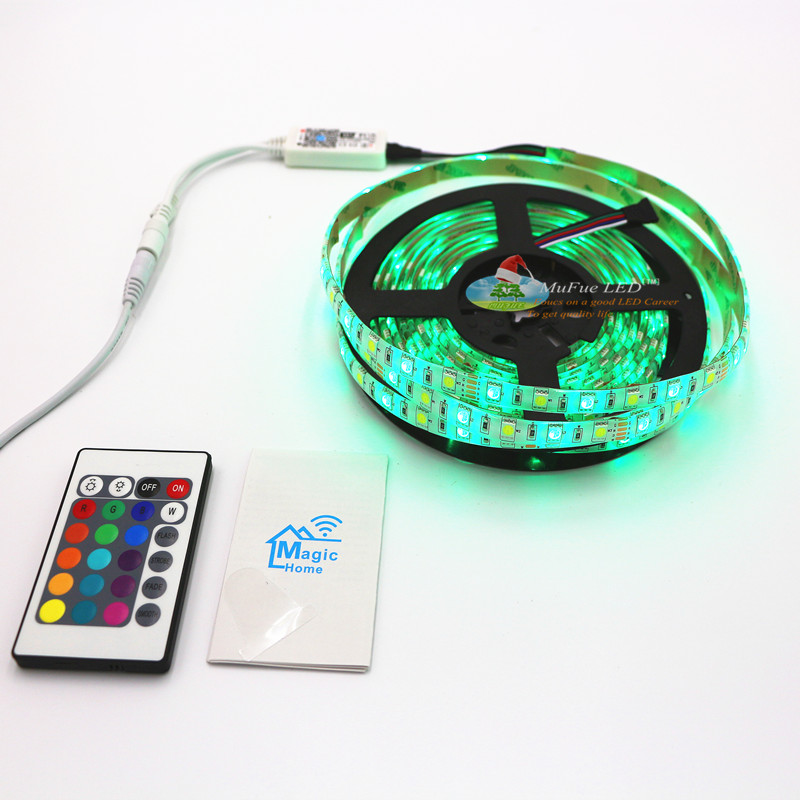 Wifi/bluetooth Good Price RGB+W blister packing led strip Quality assurance 2 years