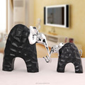 Handmade black environmental standstone elephant craft home decoration