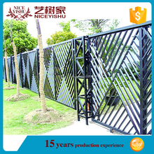 Easy to install antique wrought iron fence panels, galvanized steel fence post cap, iron fence panels