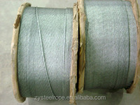 line contacted and ungalvanized steel wire rope 6*36WS, 6*19S