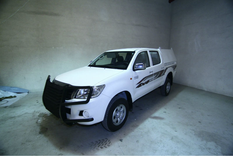Armored Cash Box - Toyota Hilux Double Cabin