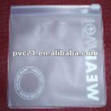 Dongguan Manufactory Soft Plastic Frosted PVC Swimsuit Ziplock Bag