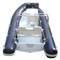 luxury inflatable aluminum rib yatch boats with outboard engine