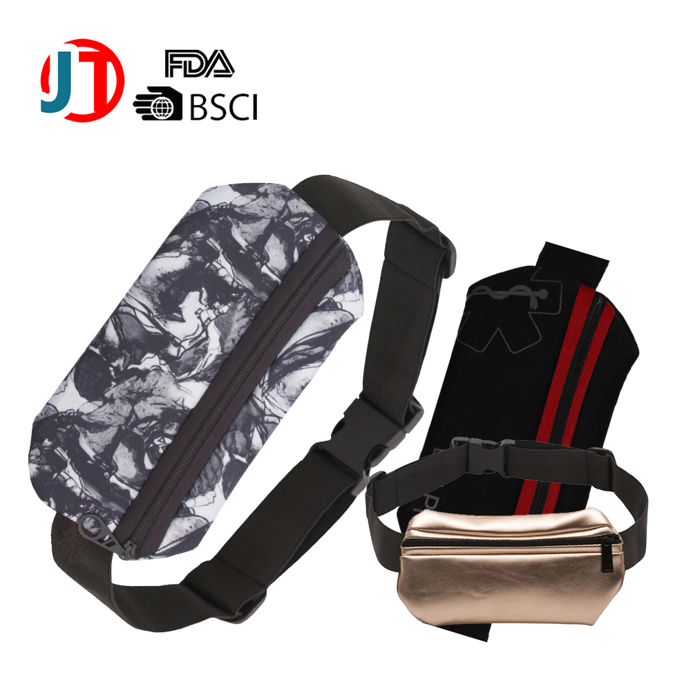 neoprene sport led pouch/waist belt bag