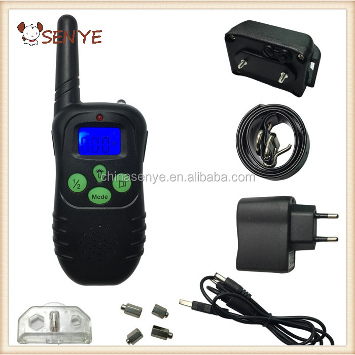 Hot selling dog electronic waterproof shock dog training collar