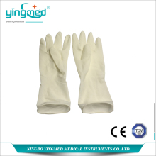 Sterile latex surgical glove new products China manufacture