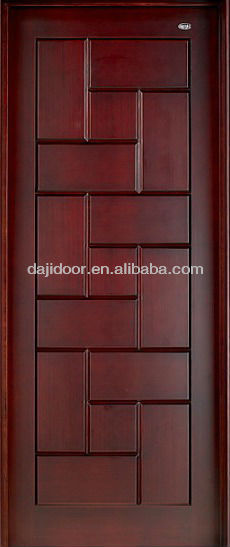 Modern Pooja Doors With Stain DJ-S3436