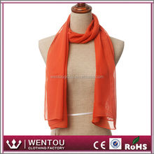 Yiwu Manufactory Make Ribbon Scarf