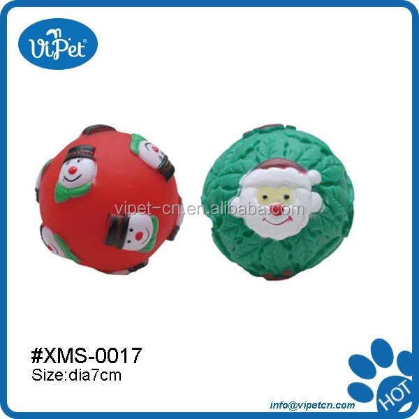 Christmas pet vinyl toy with much fun