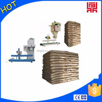 granule packing machine,wood pellet packaging machine with automatic feeding machine
