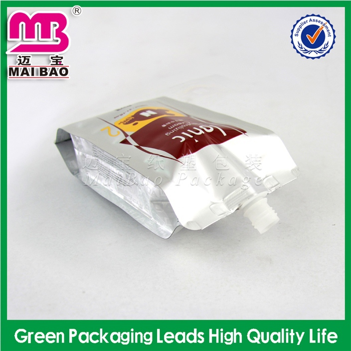auto machine made spouted pouch for pureed fruit