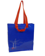 2015 wholesale recyclable two pairs handle rpet non woven bag
