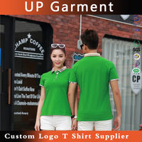 Z6120 new design sophisticated technology high-end polo t shirt 100% cotton