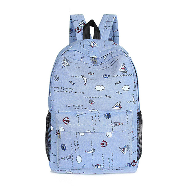 School Backpacks for Teenage Girls Canvas Women Backpacks Fashion School Bags Schoolbag Satchel Student Book Bag Mochilas M299