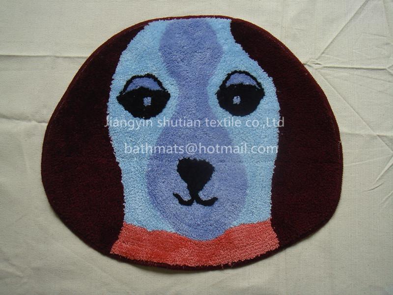 Kids Cartoon Floor Carpet Animal Shaped Rugs