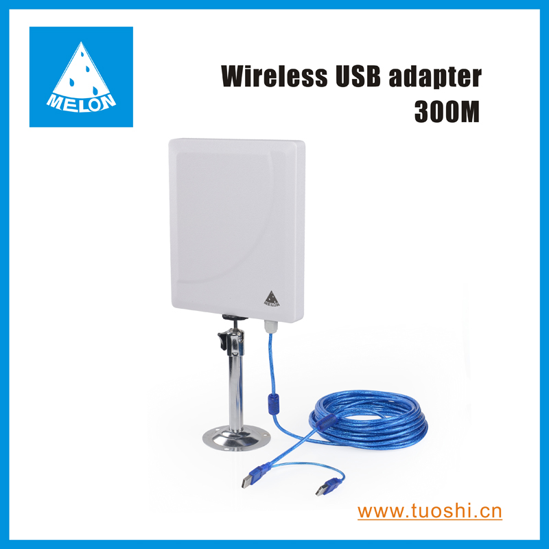 Outdoor 2000mW high power 300Mbps wifi adapter Ralink 3072 chip 36dBi built-in antenna