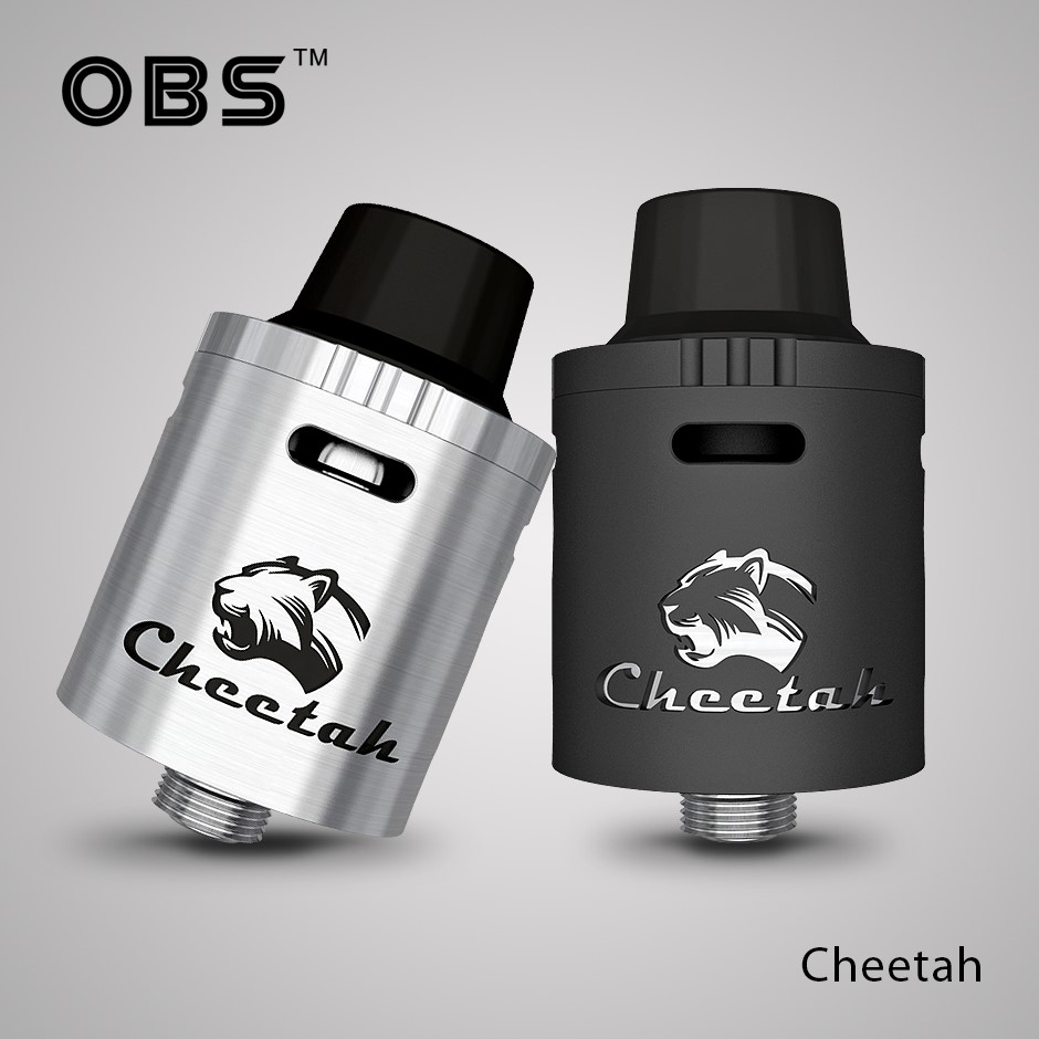 2016 New Arrival OBS cheetah top airflow top filling RDA vape Tank