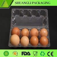 8 pcs egg incubator/ packaging for chicken eggs /plastic tray wholesale