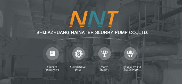 NH series high chrome/ rubber lined horizontal centrifugal slurry pump for mining tailings/ coal ash