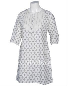Off White Mix & Match Kurti