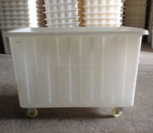 LLDPE transportation cart customized laundry cart for recyling clothing