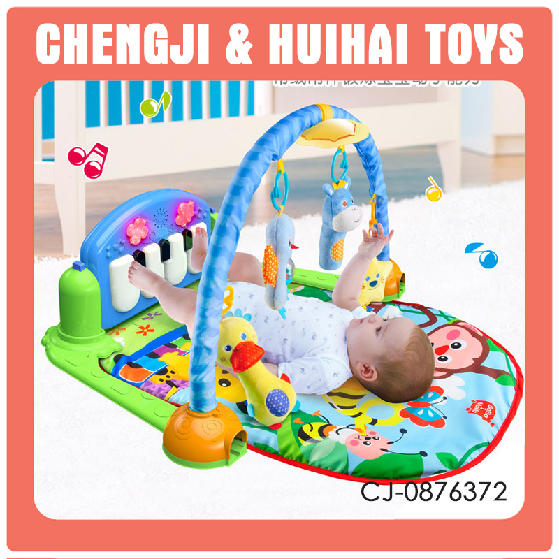New design musical piano babies care sleeping mats toy baby play mat