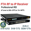 8-Channels Professional Digital Satellite Receiver With 8*Tuner(DVB-S/S2/C/ISDB-T/Tb/ATSC optional), without CI slot FTA