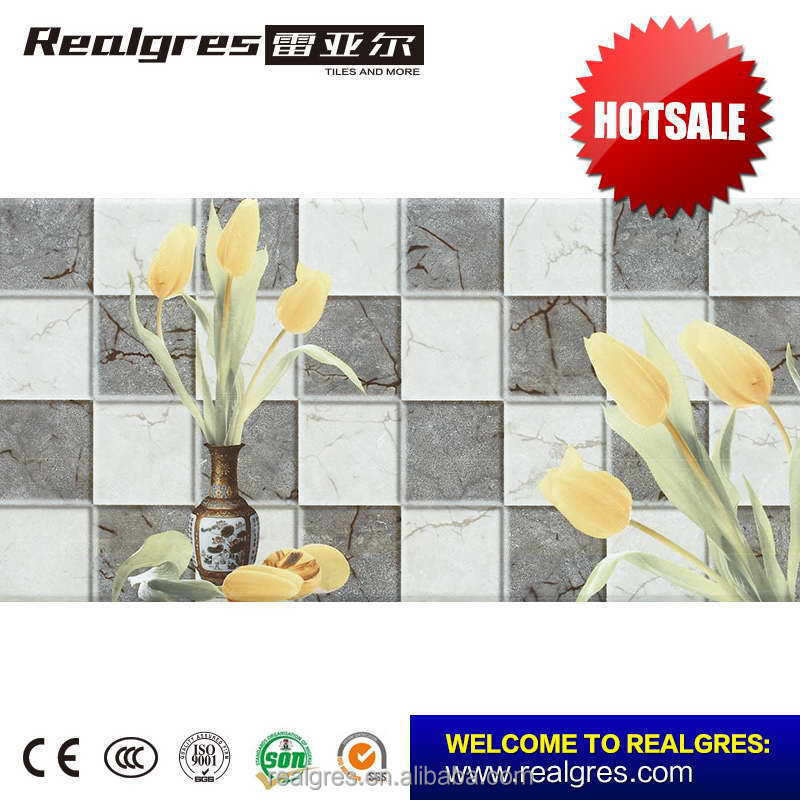Good quality hot-sale glazed ceramic decorative wall foam tile