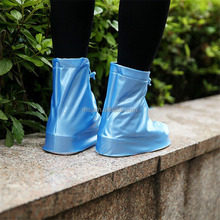 Reusable Anti-slip And Waterproof PVC Plastic Rain Shoe Covers