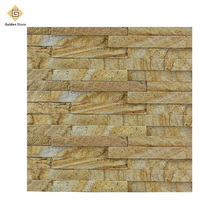 Wholesale new arrival yellow split wall cladding slate