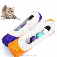 Wholesale Crazy Cat Bamboo Pipe Toy Resistance To Bite Cat Training Toy