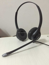 Professional Binaural usb headset for call center