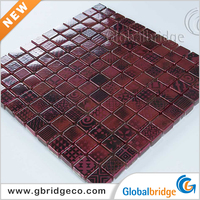 Stone Crystal Glass Mosaic For Decoration Broken Crystal Mosaic Tile 8INKCb905
