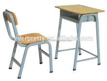 Middle school desk and chair,children study desk, middle school desk
