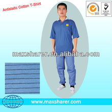 Antistatic POLO Shirt,Cotton,Comfortable C0105