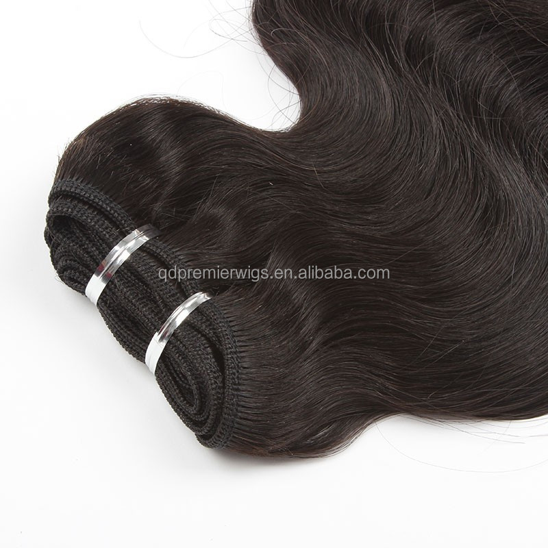 2015 new arrive 16inches virgin brazilian hair natural color body wave weaving with factory price