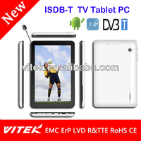 Best Price 7 inch Mobile DVB-T2 Digital Tablet