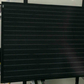 Chinese Manufacture High Quality All Black Solar Panel with 72 cells series with Inmetro certificate